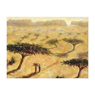 Paisaje del Sahel 2002 Lona Estirada Galerías