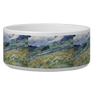 Paisaje del Santo-Remy de Vincent van Gogh