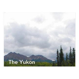 Paisaje del Yukón Postales