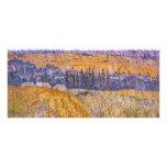 Paisaje en Auvers en la lluvia, Vincent van Gogh Diseño De Tarjeta Publicitaria