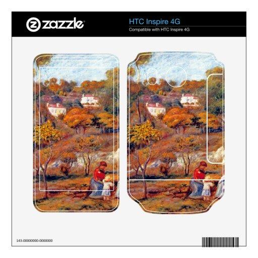 Paisaje en Cagnes de Pedro Renoir HTC Inspire 4G Skins