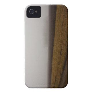 Paisaje en el caso de Barely There del iPhone de l Case-Mate iPhone 4 Protectores