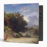 Paisaje en las cercanías de Roma, 1853
