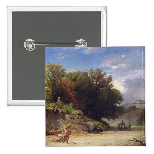 Paisaje en las cercanías de Roma, 1853 Pins