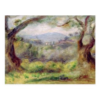Paisaje en Les Collettes, 1910 Tarjetas Postales