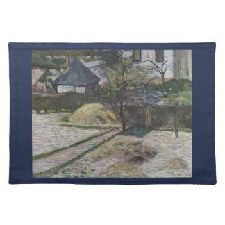 Paisaje en Osny - Paul Gauguin (1881) Mantel