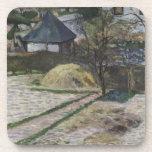 Paisaje en Osny - Paul Gauguin (1881) Posavasos De Bebidas