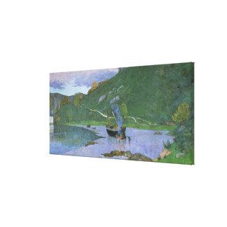 Paisaje en Pont-Aven, c.1893-94 Impresiones De Lienzo