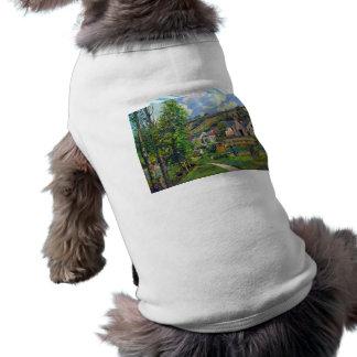 Paisaje en Pontoise de Camille Pissarro Ropa Para Mascota