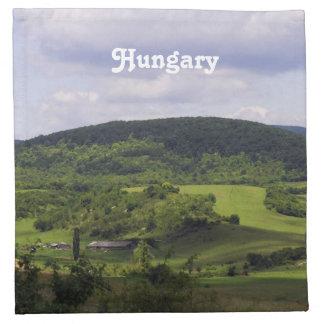 Paisaje enorme de Hungría Servilleta De Papel