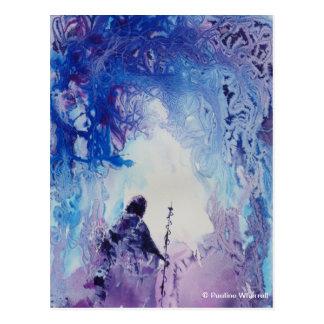 Paisaje espiritual ligero especial del © P Tarjeta Postal
