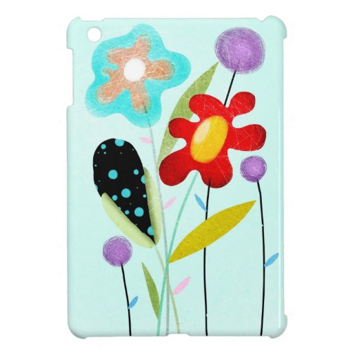 paisaje floral bueno iPad mini carcasas
