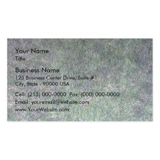 Paisaje fresco de la hierba verde tarjetas de visita