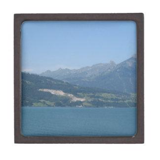 Paisaje hermoso en Suiza Cajas De Joyas De Calidad