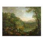 Paisaje ideal, 1776 postal