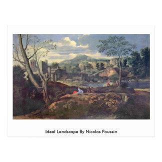Paisaje ideal de Nicolás Poussin Postales