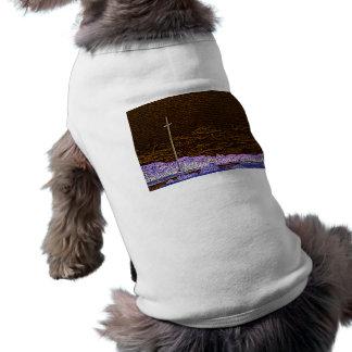 paisaje invertido del bosquejo de St Augustine de Camisetas De Perrito