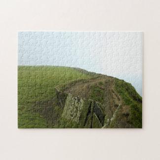 Paisaje irlandés puzzle con fotos