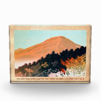 Paisaje japonés fresco de Fuji de la montaña de la