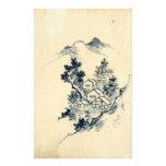 paisaje japonés papeleria personalizada