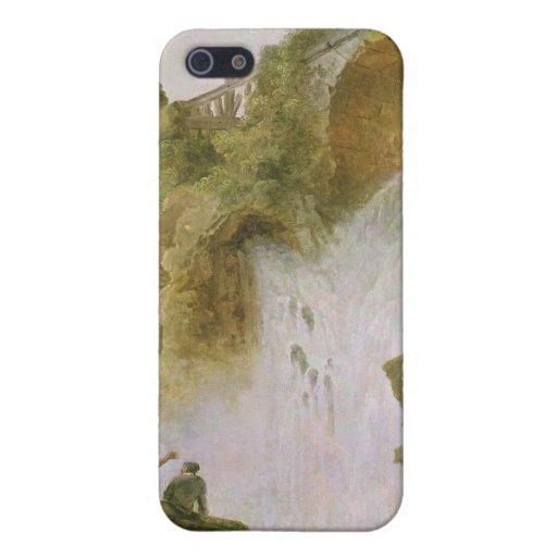 Paisaje, la cascada iPhone 5 fundas