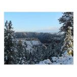 Paisaje llameante Skyscape Waterscape de Utah de Postal