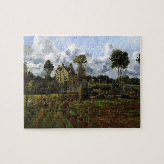 Paisaje, Louveciennes de Camille Pissarro Rompecabeza Con Fotos