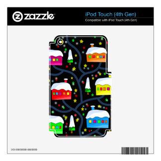 Paisaje mágico de la noche calcomanía para iPod touch 4G