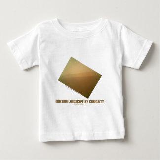 Paisaje marciano por la curiosidad (paisaje de tee shirts