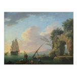 Paisaje marino, 1748 postales