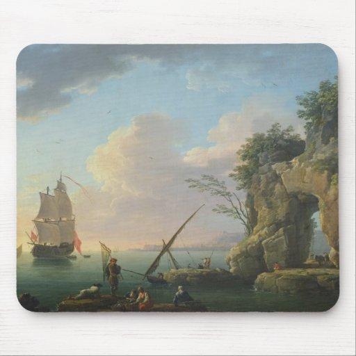 Paisaje marino, 1748 tapete de ratón