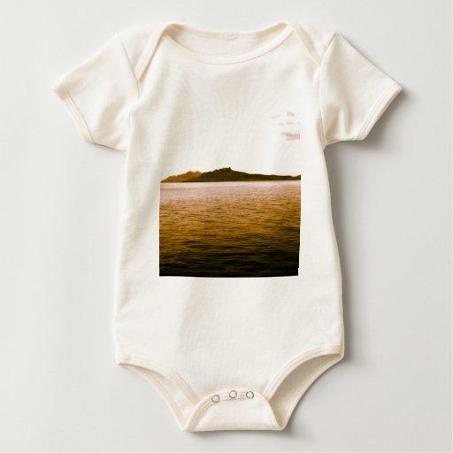 Paisaje marino body para bebé