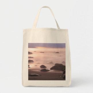 Paisaje marino bolsa de mano