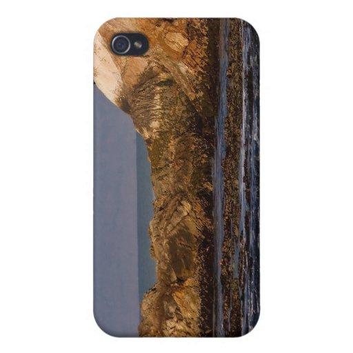 Paisaje marino californiano iPhone 4 coberturas