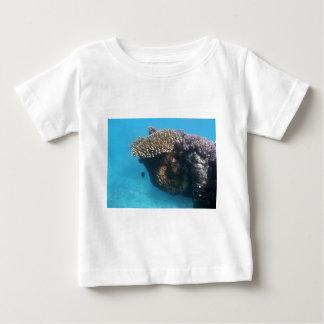 Paisaje marino coralino polera