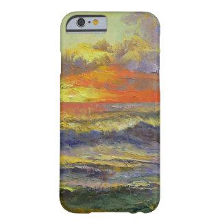 Paisaje marino de California Funda De iPhone 6 Barely There