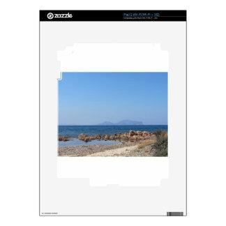 Paisaje marino de Cerdeña en verano iPad 2 Skins