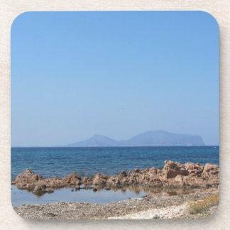 Paisaje marino de Cerdeña en verano Posavaso