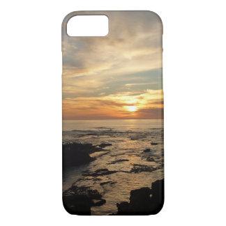 Paisaje marino de la puesta del sol I California Funda iPhone 7