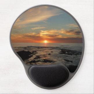 Paisaje marino de la puesta del sol II California Alfombrilla De Raton Con Gel