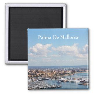 Paisaje marino de Mallorca Imán Cuadrado