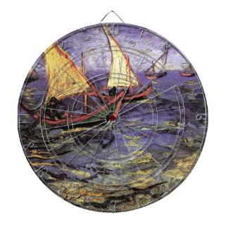 Paisaje marino de Van Gogh en Saintes Maries,