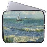 Paisaje marino de Van Gogh en Saintes-Maries (F415 Funda Ordendadores
