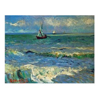 Paisaje marino en el Saintes-Maries-de-la-Mer Tarjeta Postal
