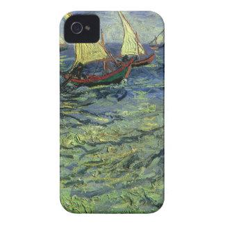 Paisaje marino en Saintes Maries de Vincent van Go Case-Mate iPhone 4 Funda