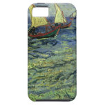 Paisaje marino en Saintes Maries de Vincent van Go iPhone 5 Fundas