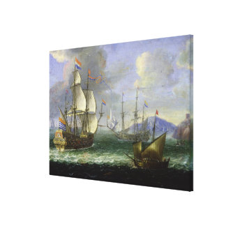 Paisaje marino impresión en lienzo estirada