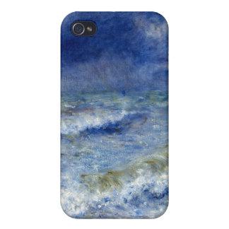 Paisaje marino - Pierre-Auguste Renoir iPhone 4 Fundas