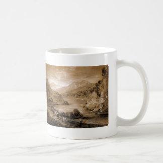Paisaje montañoso de Thomas Gainsborough Tazas