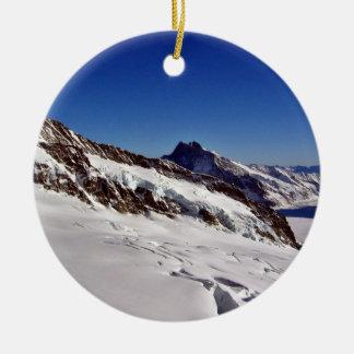 Paisaje Nevado y cielos azules Adorno De Reyes